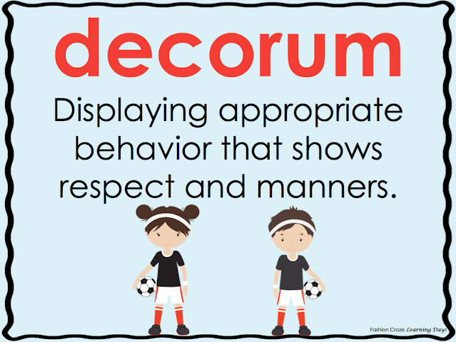 Social and Academic Vocabulary Posters