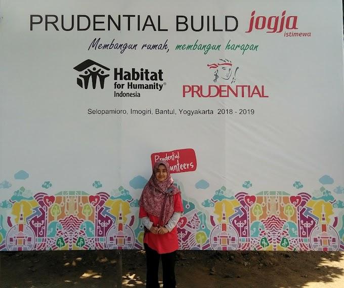 PruVolunteers Program : Membangun Rumah dan Membangun Harapan Bersama Prudential di Desa Selopamioro Imogiri Jogja