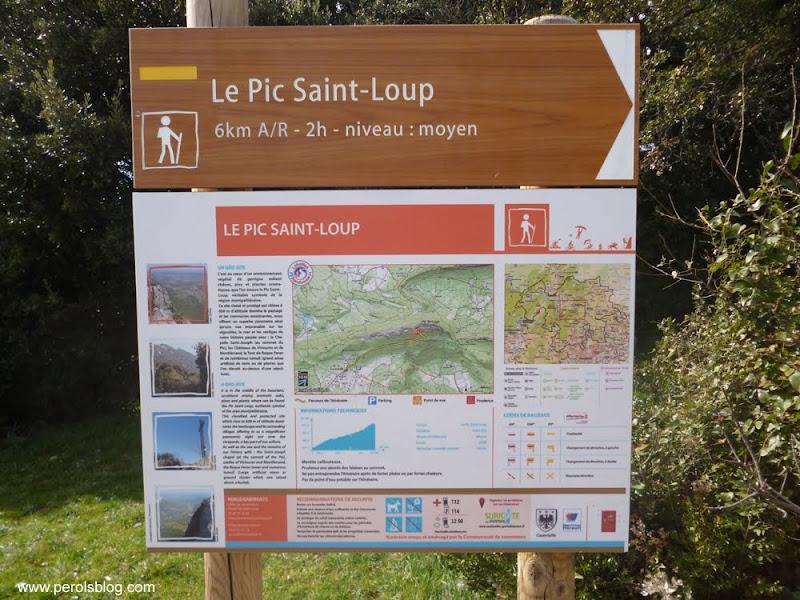 Parking Pic Saint Loup