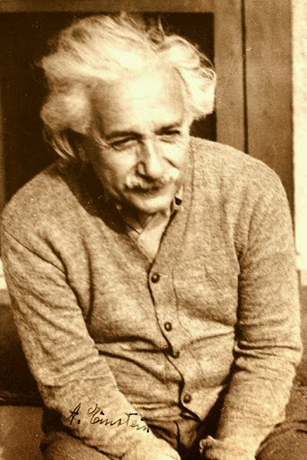 Albert Einstein at the Princeton University