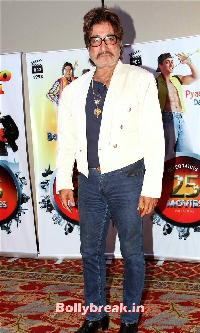 Shakti Kapoor, Vashu Bhagnani's Puja Films 25 Film Completion Party