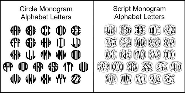 Bracelet Mold Galleries: Bracelet Letter Patterns