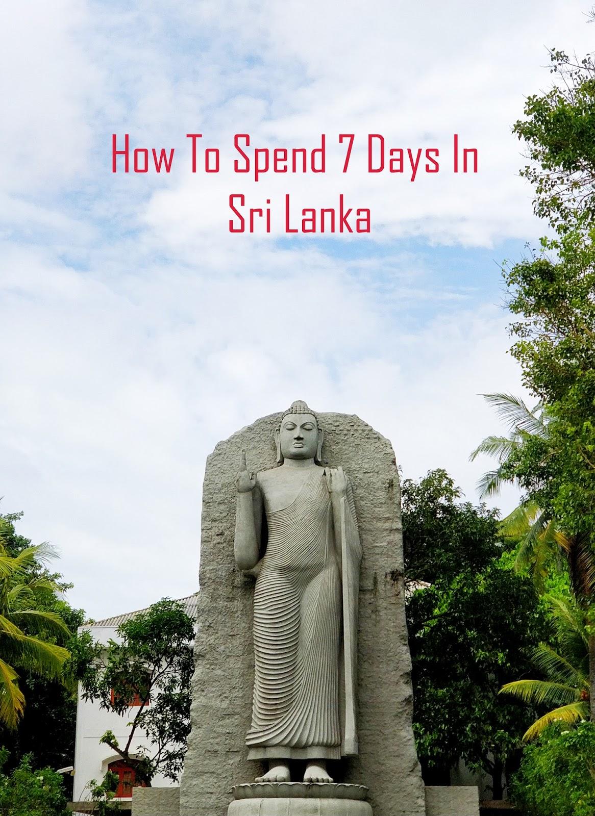 Buddha Statue at city center, Colombo, Sri Lanka