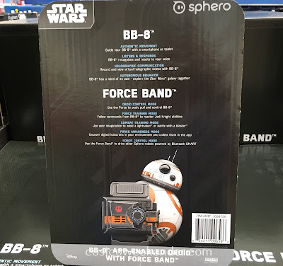 Costco 1099739 - Take part in the rebellion with the Sphero Star Wars BB-8 App-Enabled Droid with Force Band