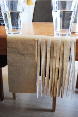 tissue paper tassel maken
