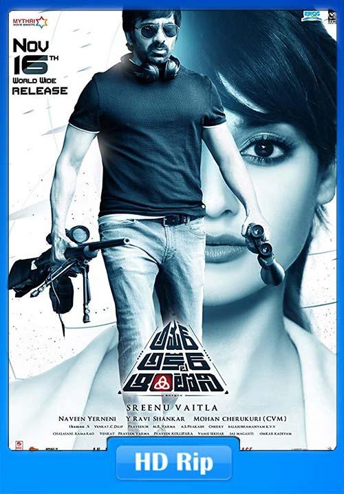 Amar Akbar Anthony 2019 Hindi HDRip 720p x264 | 480p 300MB HEVC Poster