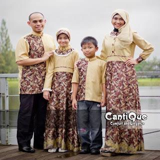 baju couple keluarga saat lebaran