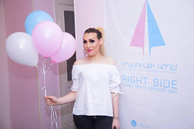 Feroz debate por mujer transgénero en Armenia