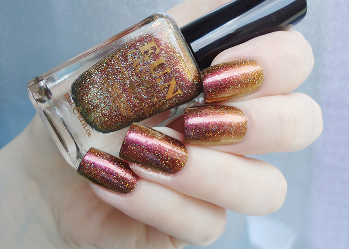 F.U.N Burnin' Up (H): swatches and review