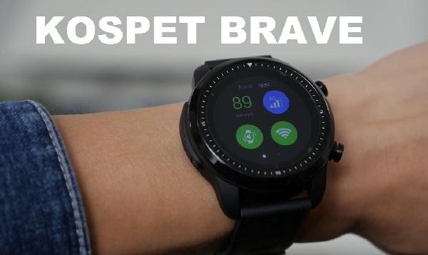 KOSPET BRAVE Android 4G SmartWatch