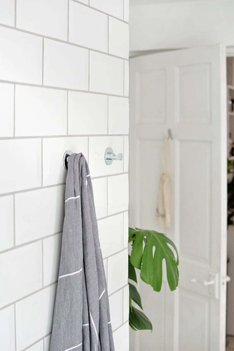 metro tile bathroom makeover