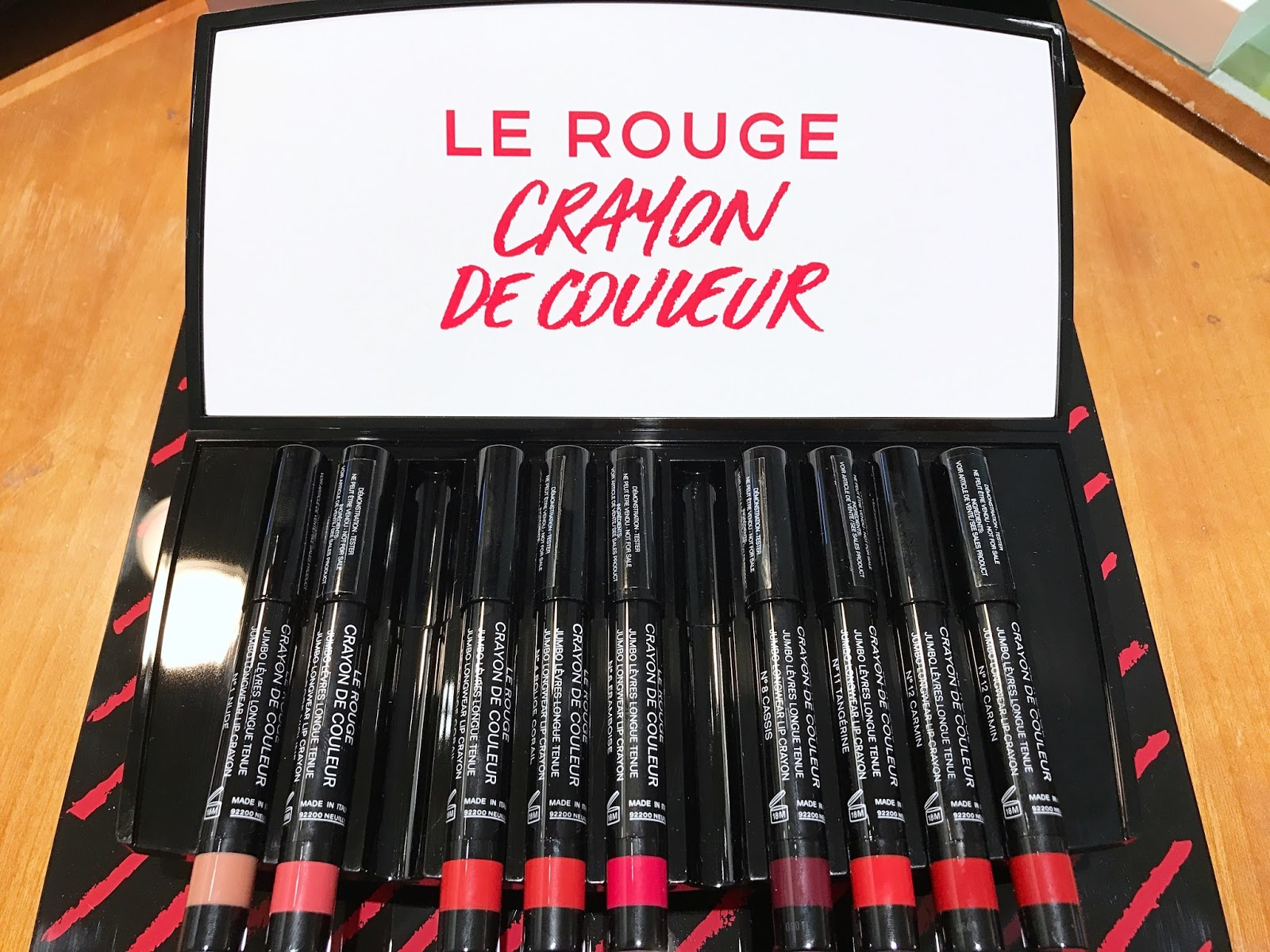 chanel le rouge crayon de couleur coco code harmonie de blush spring 2017 by georgia grace. Black Bedroom Furniture Sets. Home Design Ideas