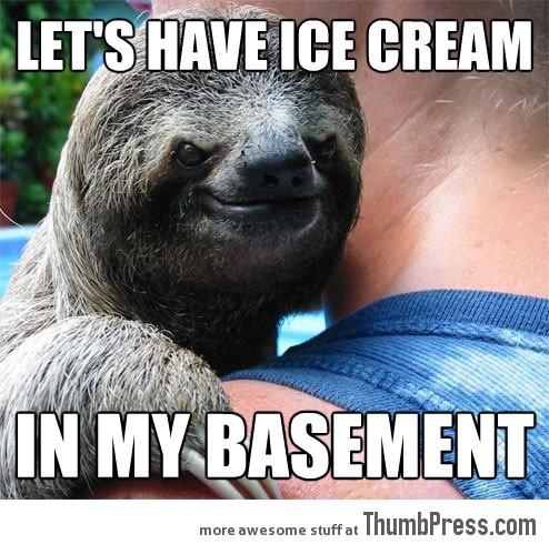 Rape sloth memes - photo#54