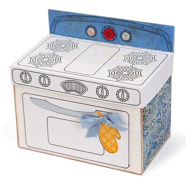 Decorative Recipe Box 2: Sizzix Die Cutting Inspiration And Tips: Decorative