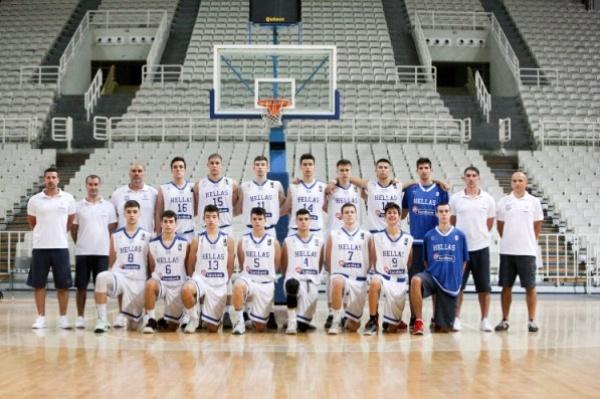 Εθνική Παίδων: Ελλάδα-Γερμανία 61-51 (φιλικό προετοιμασίας)