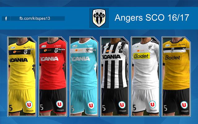 PES 2013 Kit Angers SCO 16/17
