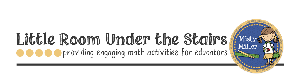 Little Room Under the Stairs: Educational Math Activities and More