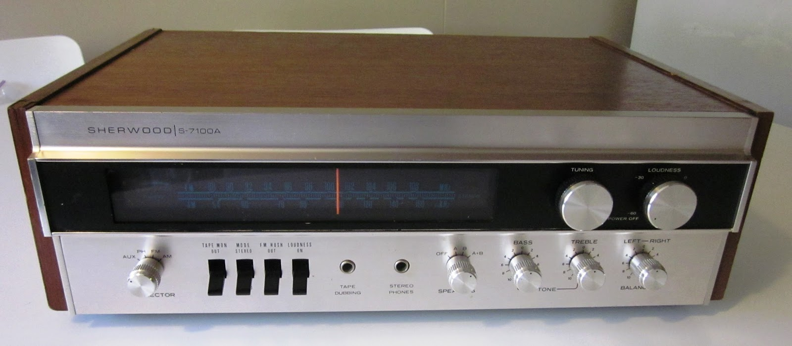 Speakerholic Sherwood S 7100a Receiver