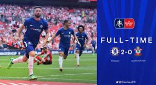 Chelsea vs Southampton 2-0 Highlights Semifinal Piala FA