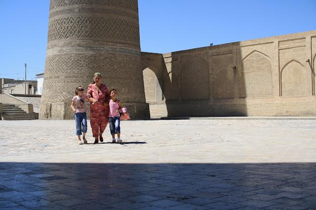 Ouzbékistan, Boukhara, Kaylan, minaret, © L. Gigout, 2010