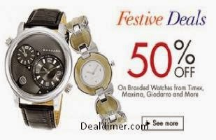 Watches 50% off or more
