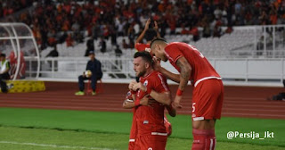 Persija Jakarta vs Johor Darul Takzim 4-0 Piala AFC
