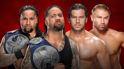 SmackDown Tag Team Champions The Usos vs. Breezango