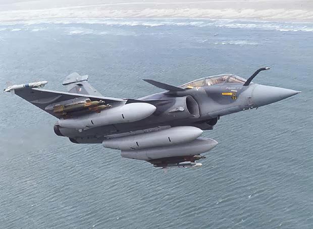 Dassault Rafale en el aire
