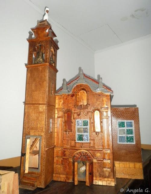 Maqueta. Fachada del Convento