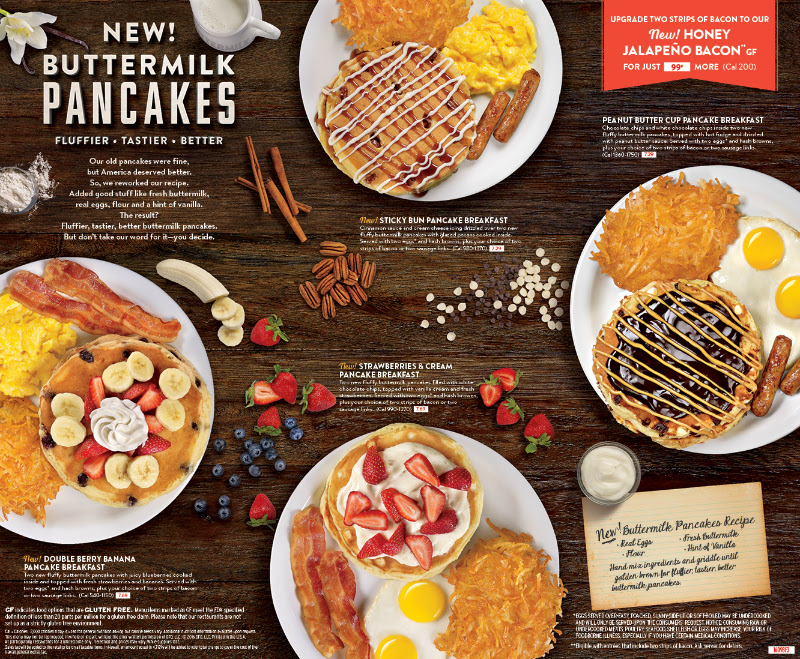 Dennys New Fluffier Buttermilk Pancakes! | Fun Things to Do in Orange ...