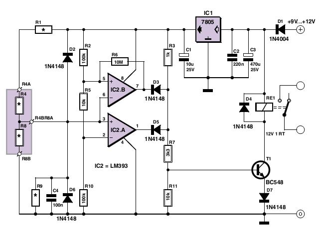 simple analogue electronic key