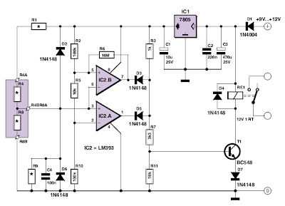 Various diagram: Analogue Electronic Key Wiring diagram