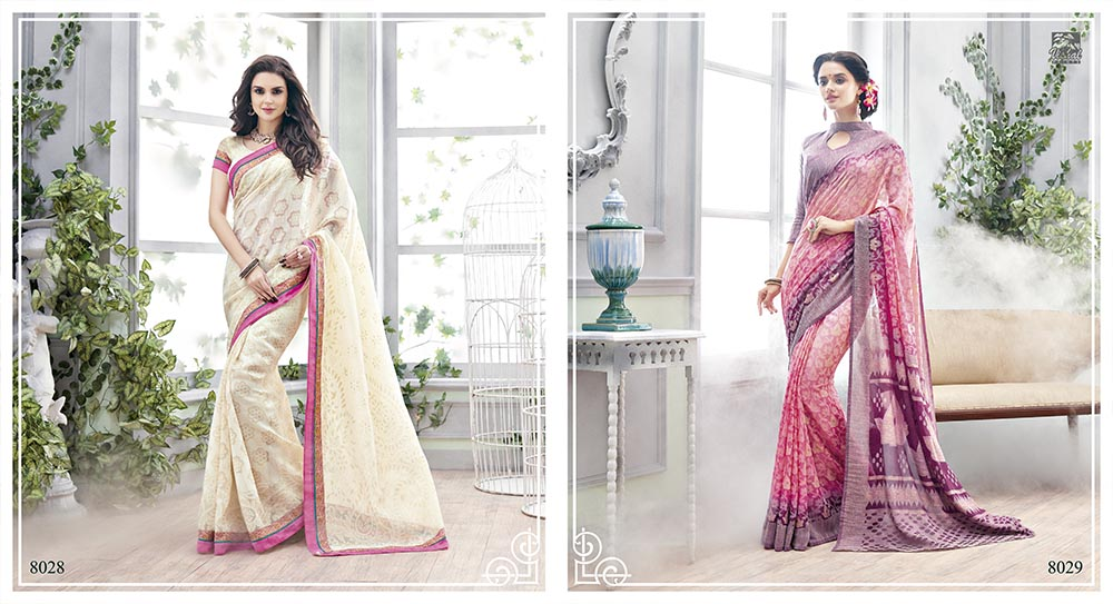 The Secret Paradise – Latest New Stylish Designer Saree Wholesale