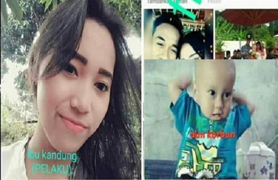 Tega! Ibu Cantik Ini Bunuh Anak Balitanya Agar Bebas Selingkuh