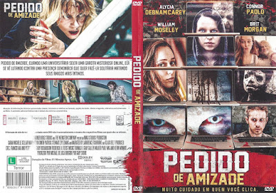 Filme Pedido de Amizade (Friend Request) DVD Capa