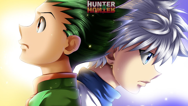 wallpaper hunter x hunter gon & Killua