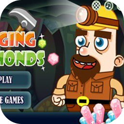 Digging Diamonds: Miner Game