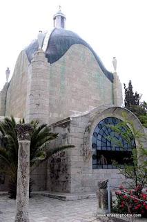 Каникулы в Израиле (Путеводитель) - христианских святынь: Церковь Доминус Флевит, Скорбящего Господа или Плач Господа