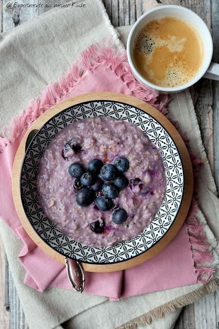 Blaubeer-Zoats | Rezept | Frühstück | Essen | Porridge