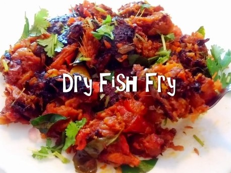 Vaalai karuvadu fry fry easy video recipe for Dry fish recipe
