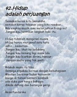 Puisi Kehidupan