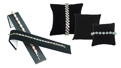Shop for velvet jewelry display for your holiday sales at Nile Corp