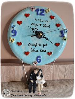 Zegar ślubny
