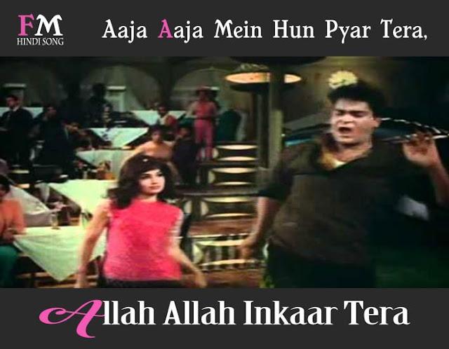 Aaja -Mein-Hun-Pyar-Tera-AllahAllah-Inkaar-Tera