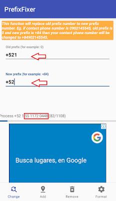app nueva marcación a 10 digitos en android fácil