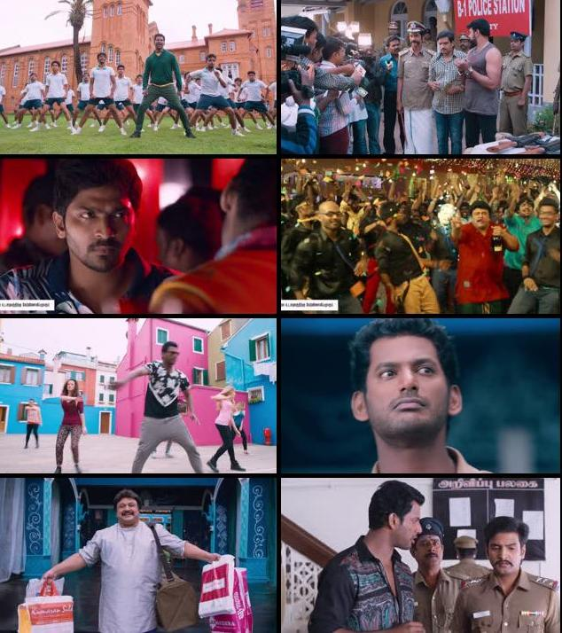 Aambala 2015 UNCUT Dual Audio Hindi 720p HDRip