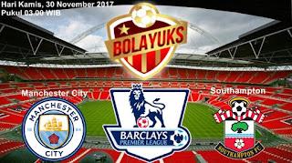 Prediksi Bolayuks: Manchester City vs Southampton, 30 November 2017