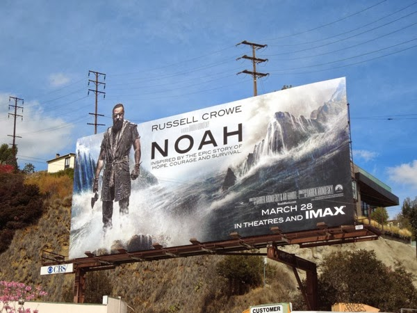 Russell Crowe Noah movie special billboard