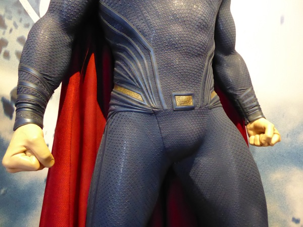 Superman Dawn of Justice waist sleeve costume detail