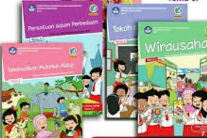 Buku Kurikulum 2013 Kelas 6 Semester 1 Revisi 2018